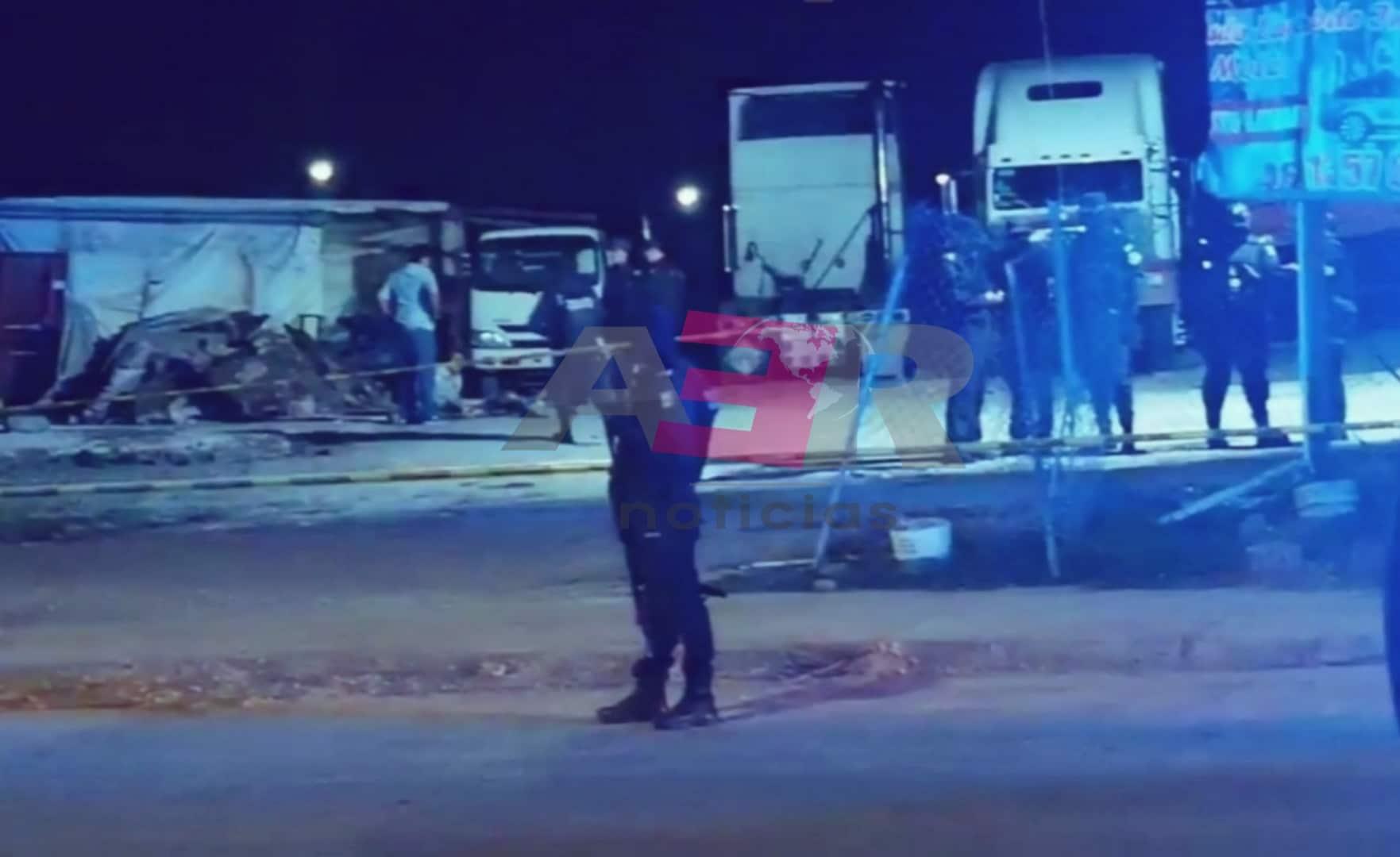 Ataque armado en un autolavado, deja un hombre muerto y una mujer lesionada 1