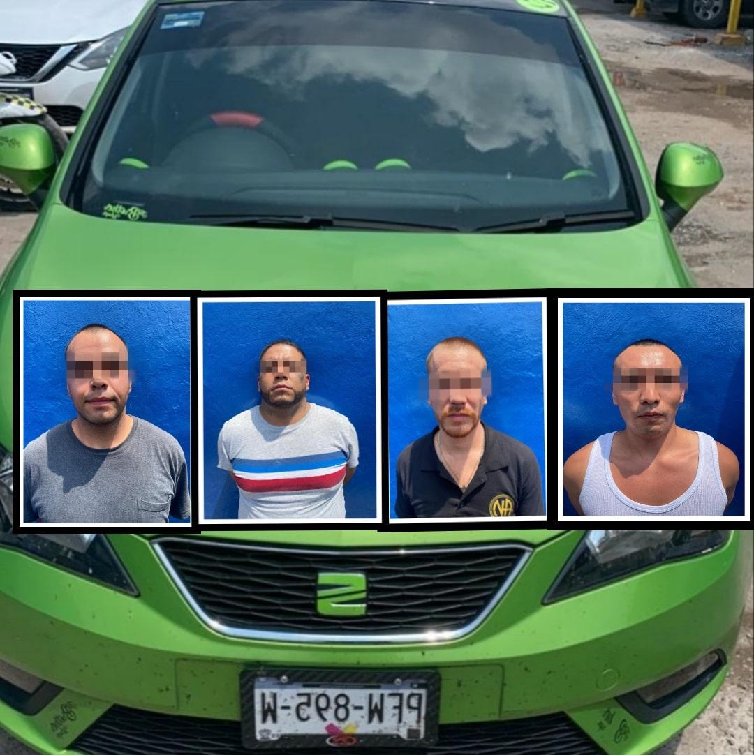 Rescata GN a joven privado de la libertad y detienen a cuatro presuntos implicados 3