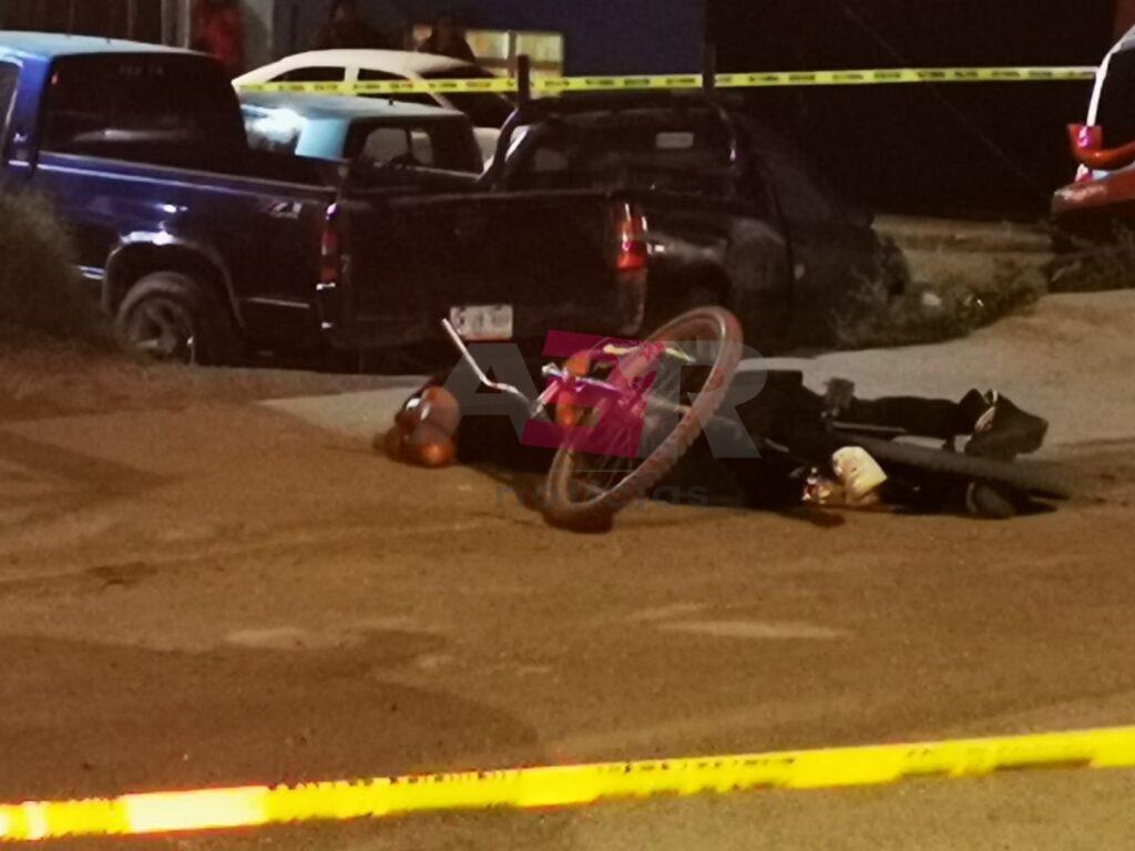 Matan a dos hombres cerca del acceso a Rancho Grande. 7