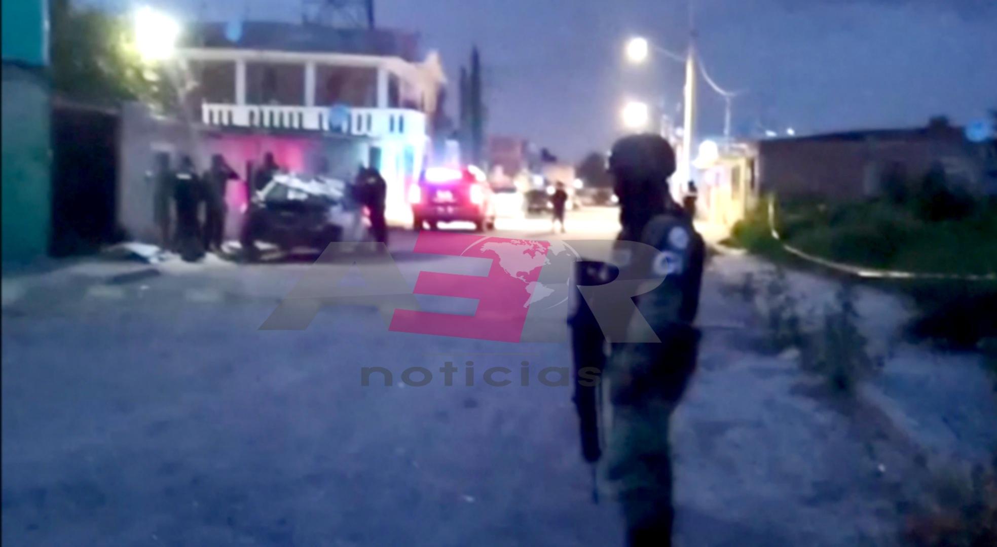 Muere elemento de las FSPE tras ataque armado en la col. Constitución de Apatzingán 1