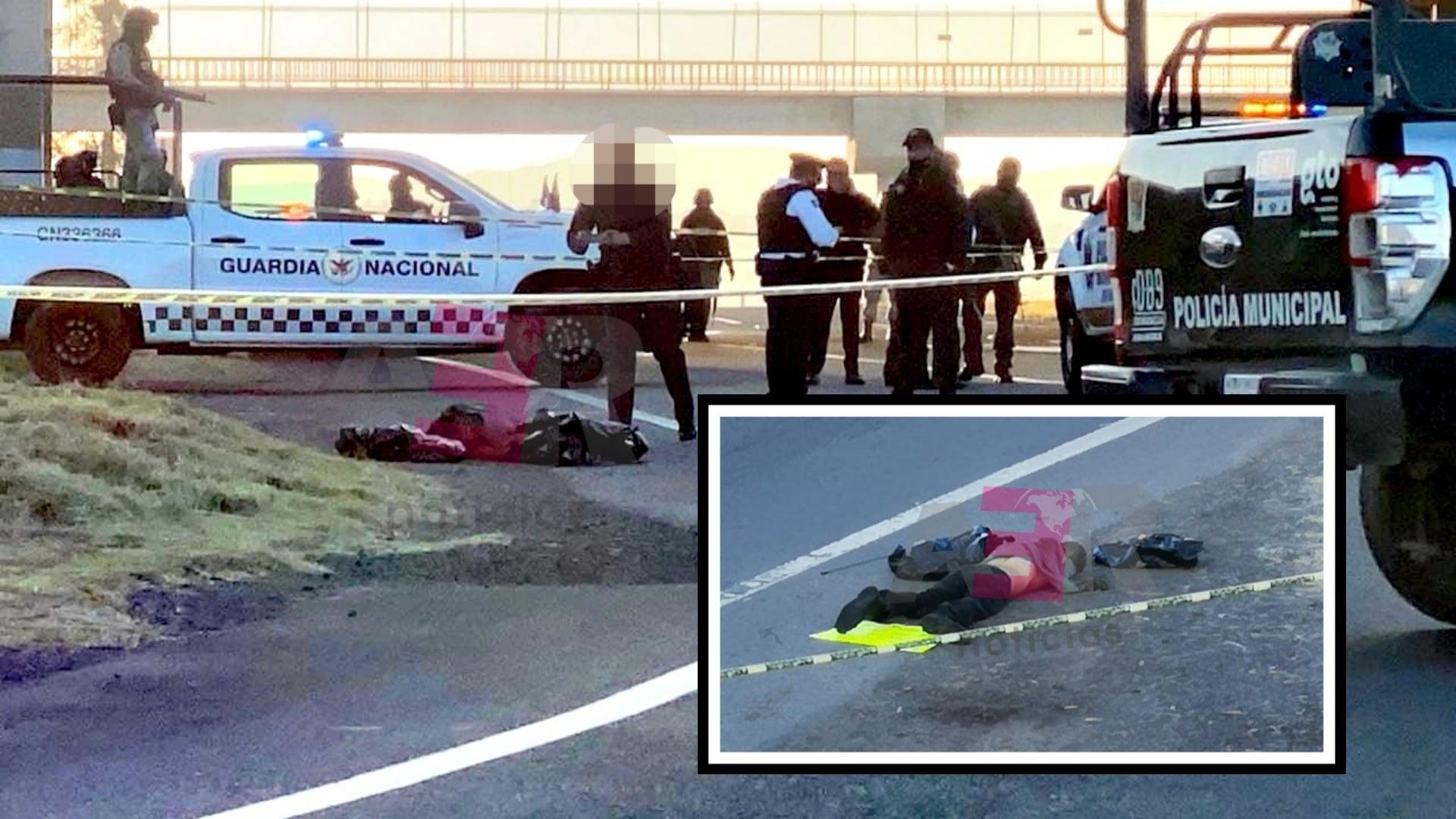 Ejecutan a hombre en la autopista Salamanca-León a la altura de El Copal 1