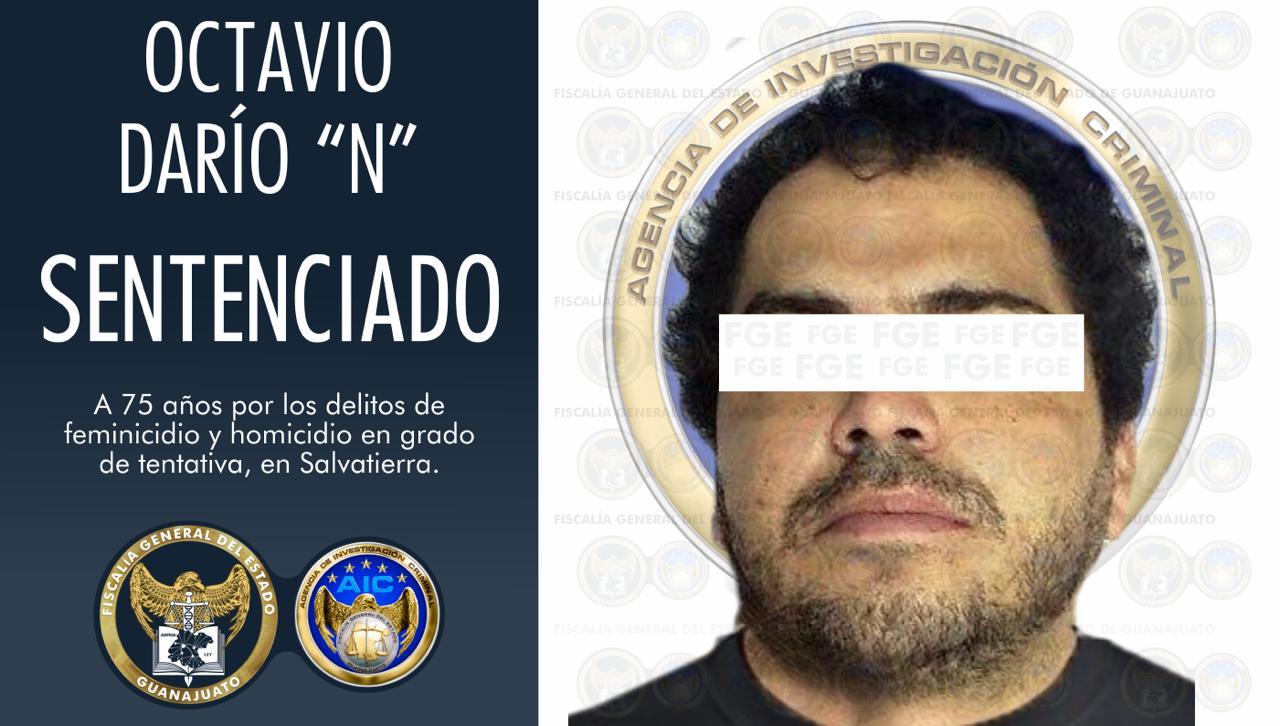 Sentencia de 75 años de prisión a hombre por tentativa de feminicidio en agravio de su esposa e hija y tentativa de homicidio en contra de dos policías. 3