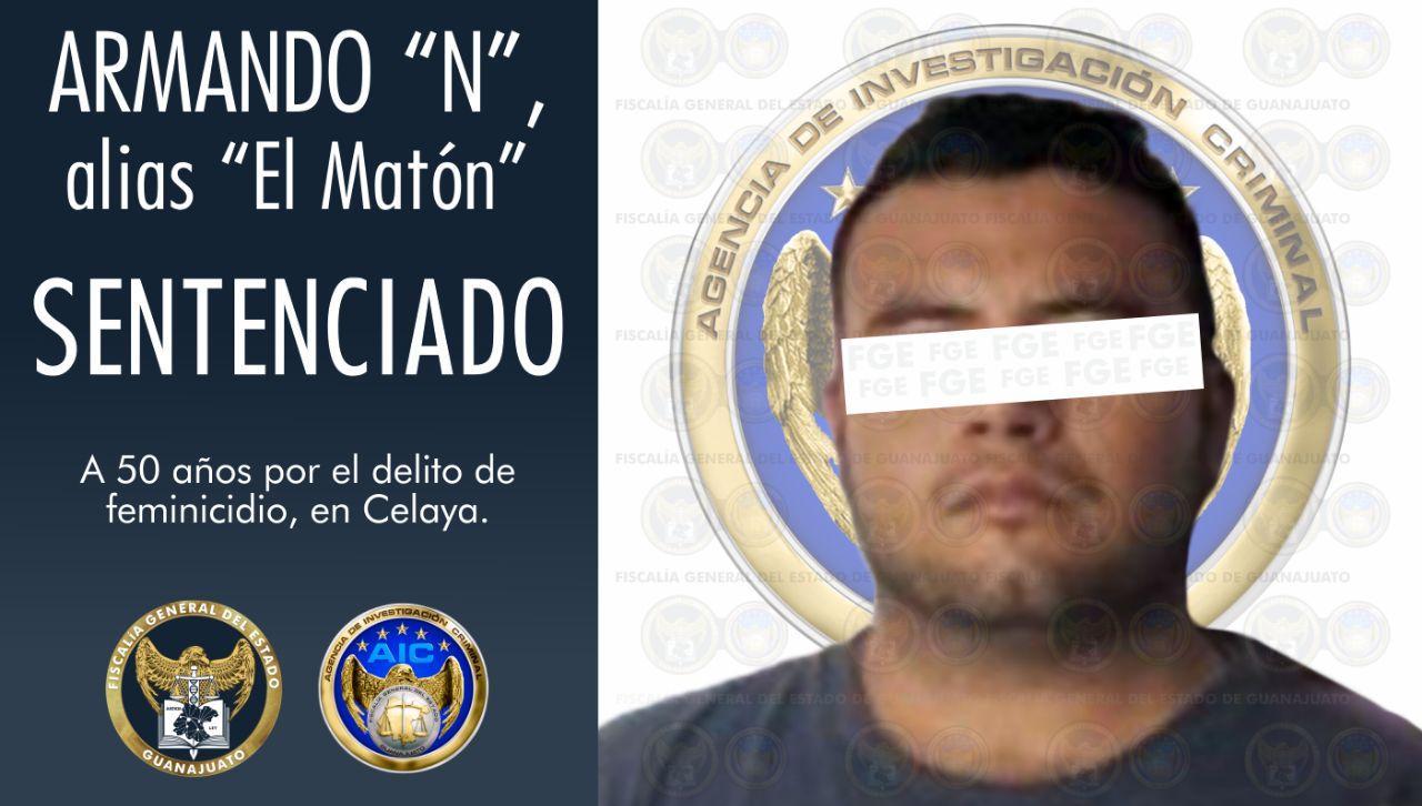 """Sentencian a 50 años de prisión a """"El Matón"""", por feminicidio de bebé. 1"""