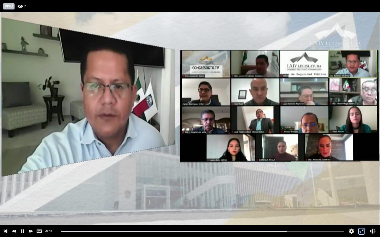 Da seguimiento la Comisión de Seguridad Pública al análisis de dos iniciativas del GPPAN en esta materia 1