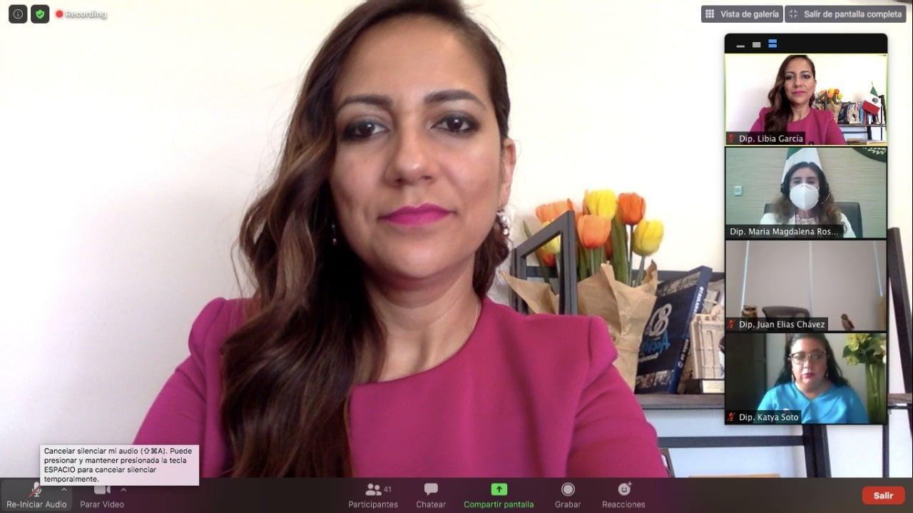 Presenta la diputada Libia García, iniciativa para definir en la Ley General las fosas clandestinas 2