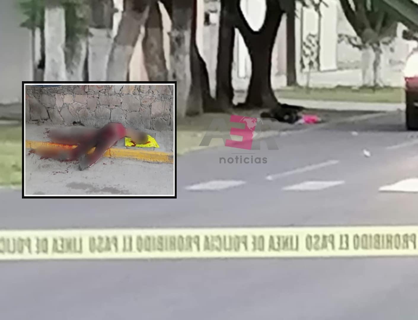Decapitan a mujer en comunidad Juan Martín en Celaya 1