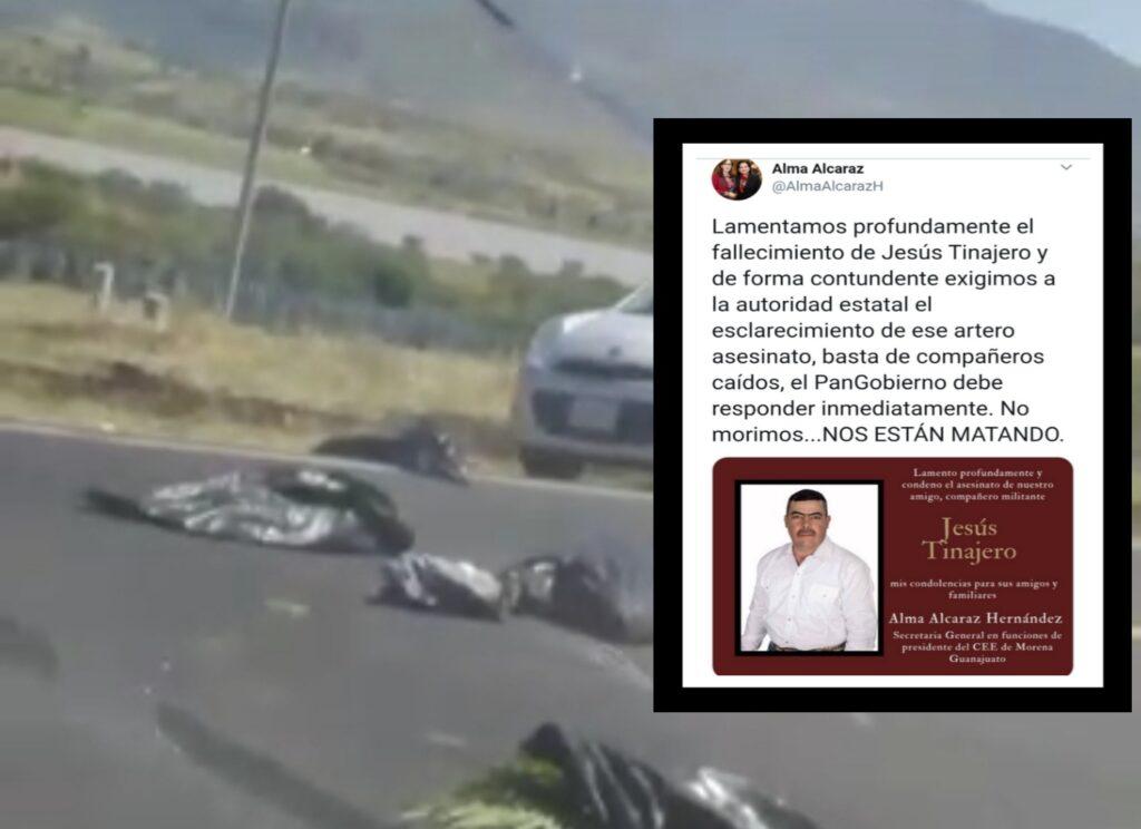 Dejan restos humanos en Jerécuaro, uno era el ex candidato a la alcaldía por Morena, Jesús Tinajero. 7