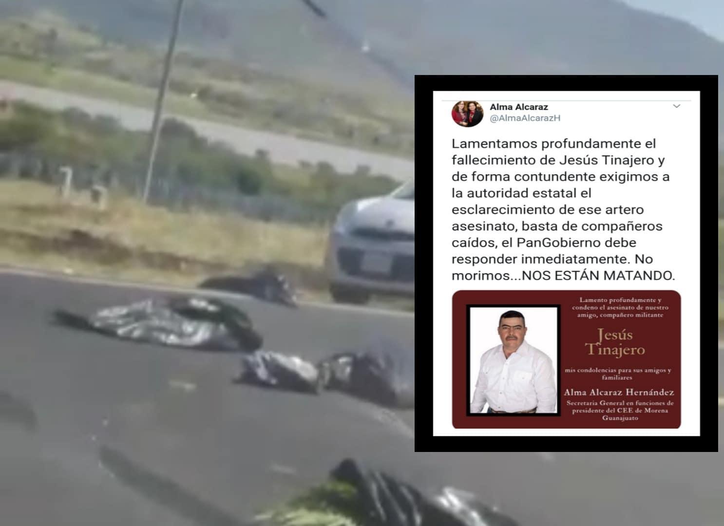 Dejan restos humanos en Jerécuaro, uno era el ex candidato a la alcaldía por Morena, Jesús Tinajero. 1
