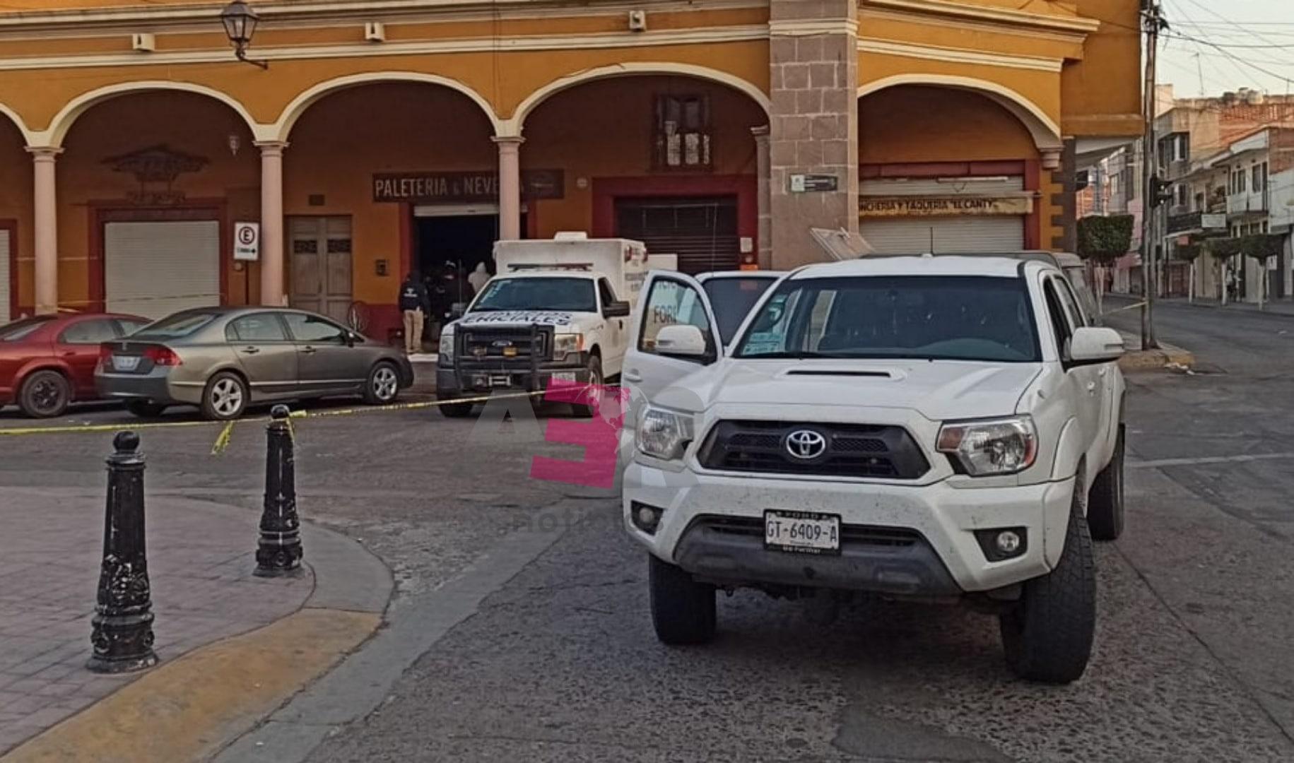 Confirma la FGE tres muertos en paletería en Cortazar 4
