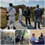 Localizan 59 cuerpos en fosas clandestinas ubicadas en Salvatierra.