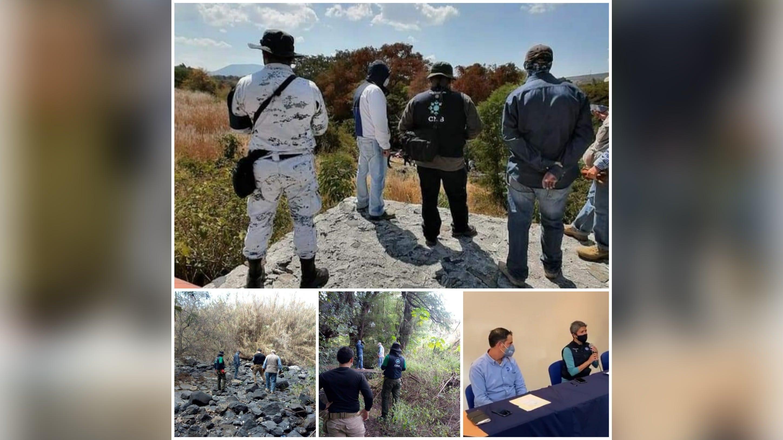 Localizan 59 cuerpos en fosas clandestinas ubicadas en Salvatierra. 3