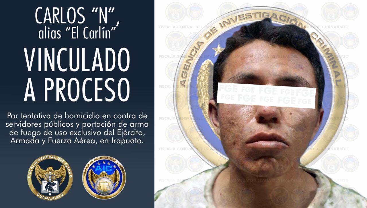 """Vinculan a proceso a """"El Carlín"""", por tentativa de homicidio en agravio de policías y portación de armas de fuego de uso exclusivo del Ejército, Armada y Fuerza Aérea. 2"""