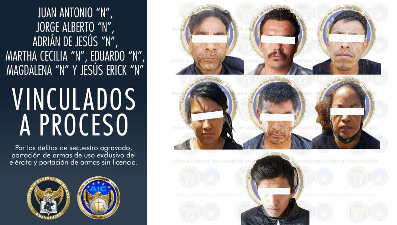 Vinculan a proceso a 5 hombres y 2 mujeres que operaban casa de seguridad en Loma de Flores 1