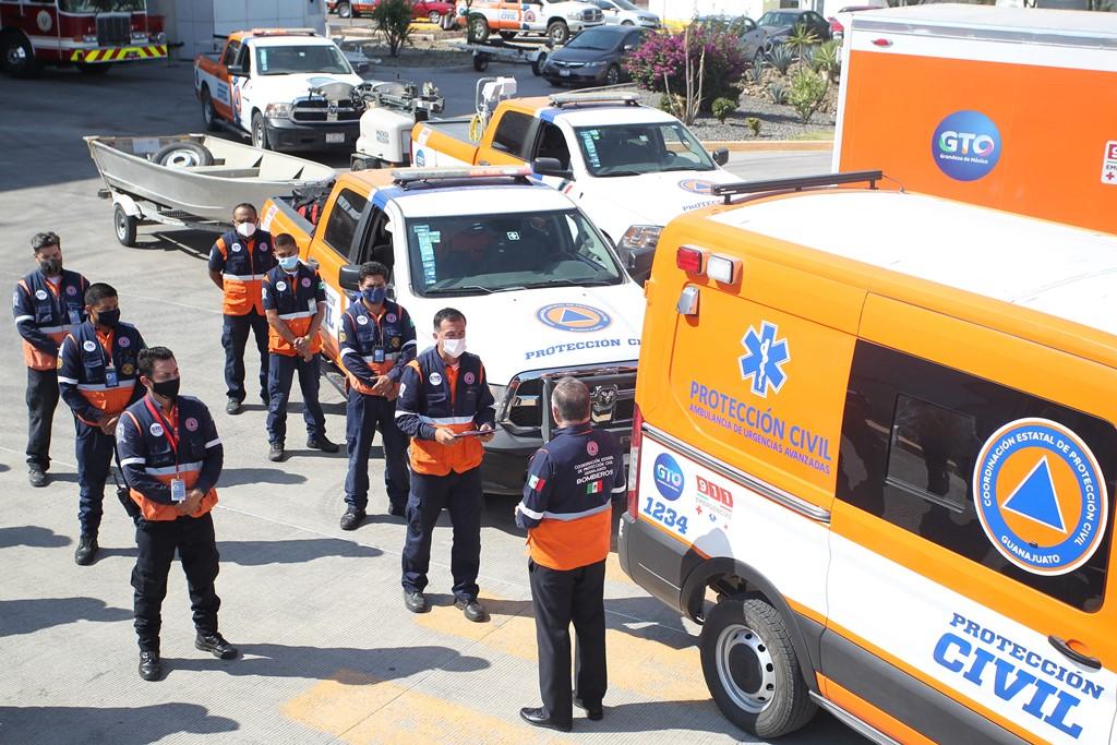 Envía Guanajuato brigada de rescate a Tabasco 1