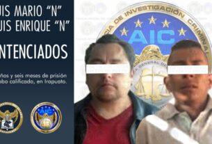 Sentencia de 5 años y seis meses en contra de dos acusados por robo calificado. 2