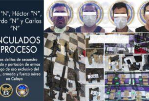 Desarticulan a un grupo criminal dedicado al secuestro y liberan a víctima. 5