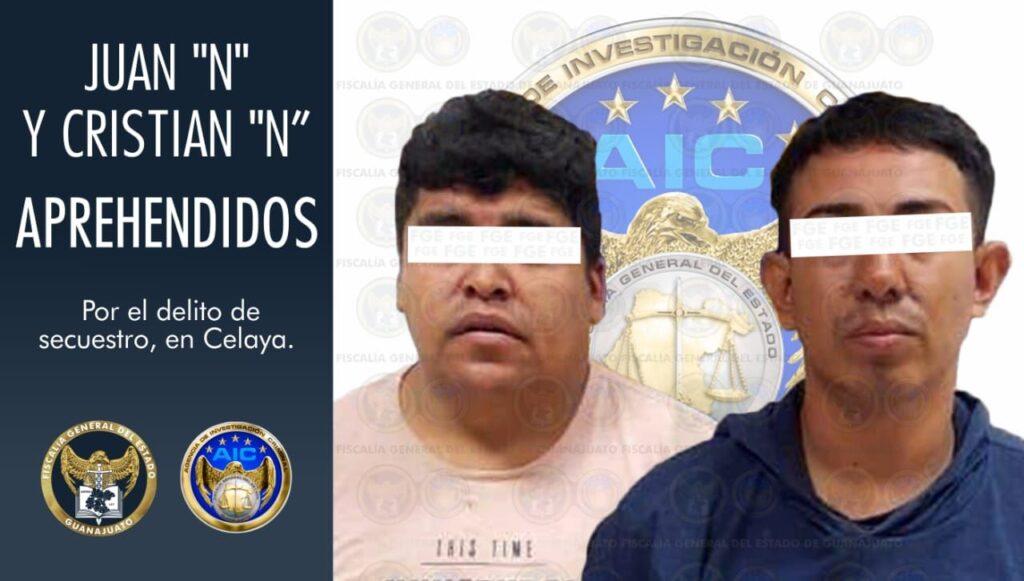 Desarticulan a un grupo criminal dedicado al secuestro y liberan a víctima. 2