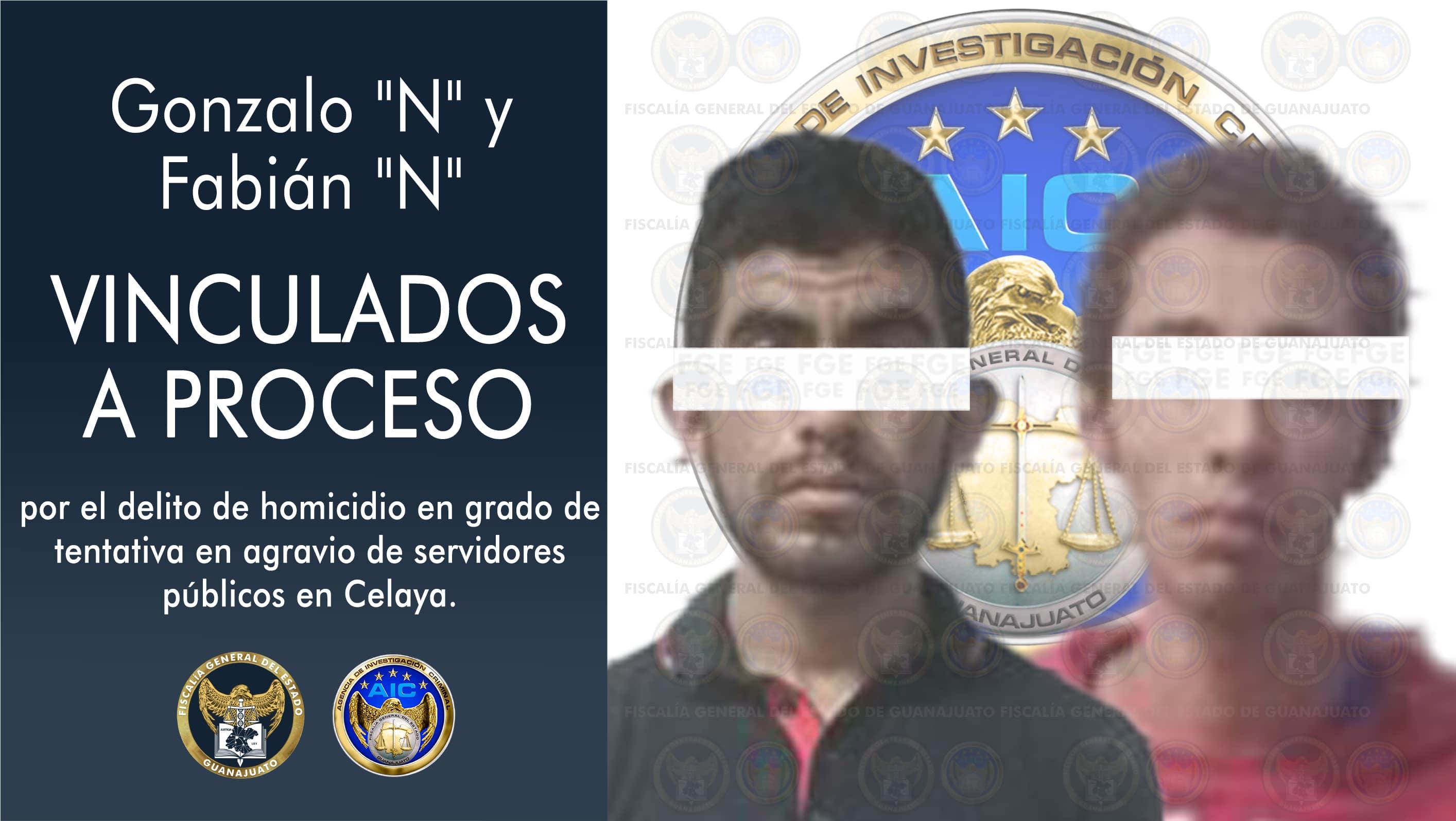 Vinculan a proceso a 2 sujetos que dispararon en contra de Policías de Celaya 4