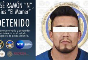"""Detienen en Morelia a """"El Mamer"""", generador prioritario de violencia en Guanajuato 5"""