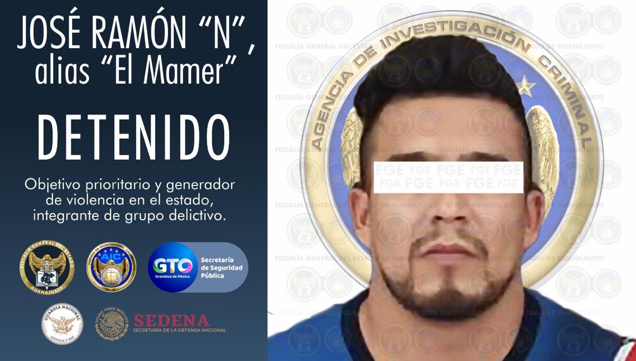 """Detienen en Morelia a """"El Mamer"""", generador prioritario de violencia en Guanajuato 1"""