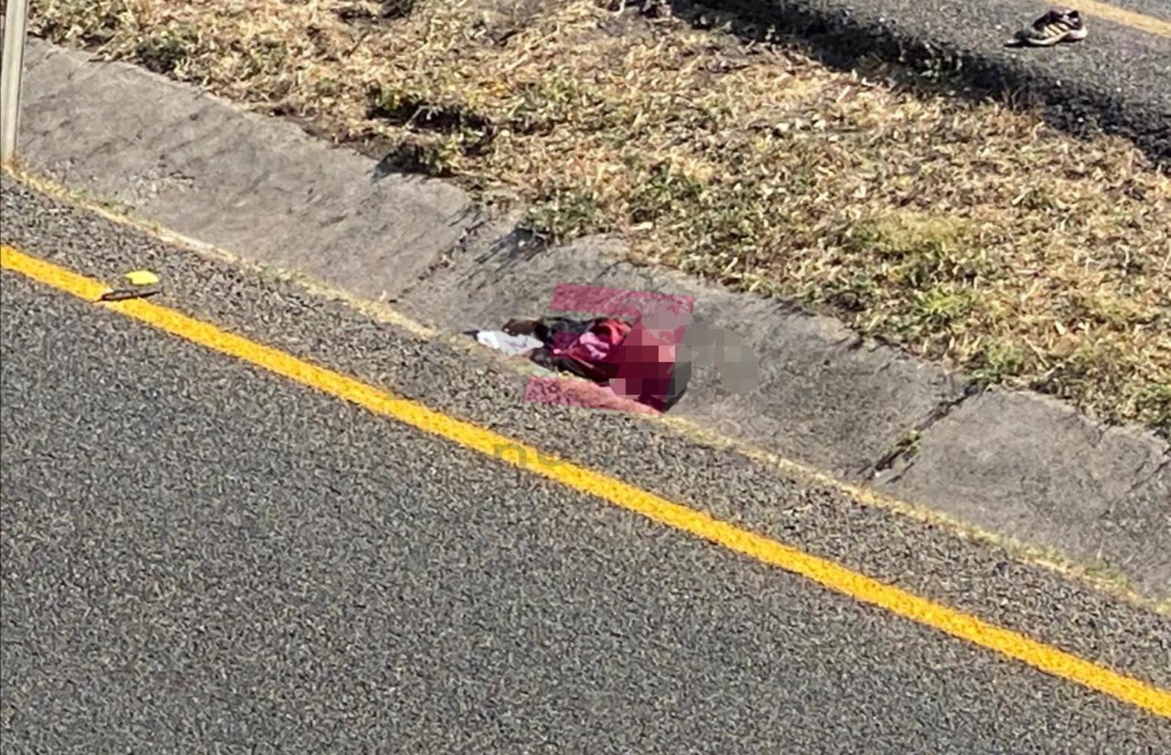 Muere atropellado hombre en la Irapuato - Abasolo. 1