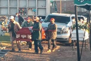 Emotivo adiós a hermanas y menor de Silao, quienes murieron en explosión de pipa en la Tepic-Guadalajara. 3