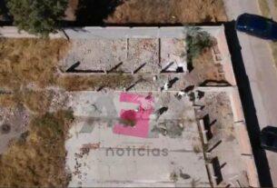 Descartan fosa en predio de El Tocotín, solo dos bolsas aparentemente con restos humanos. 5