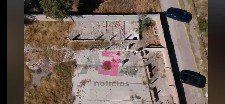 Descartan fosa en predio de El Tocotín, solo dos bolsas aparentemente con restos humanos. 1