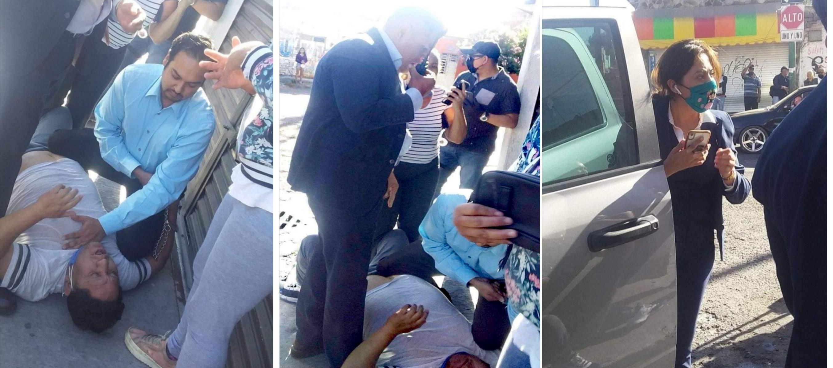 Elementos de AIC detienen a comerciante y llega muerto al hospital de Celaya 1