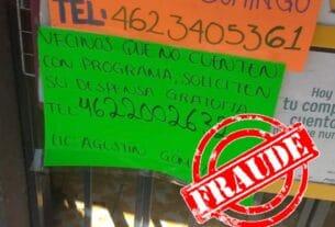 ADVIERTEN A CIUDADANÍA SOBRE SUPUESTOS PROMOTORES DE APOYOS MUNICIPALES 2