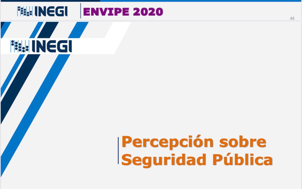 Mejora percepción de seguridad en Guanajuato 4.6%: encuesta del Inegi 8