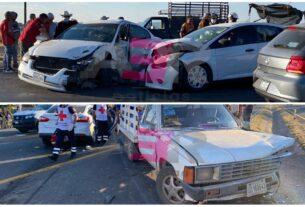 Carambola en la Irapuato-Abasolo deja dos menores y un joven lesionados 4