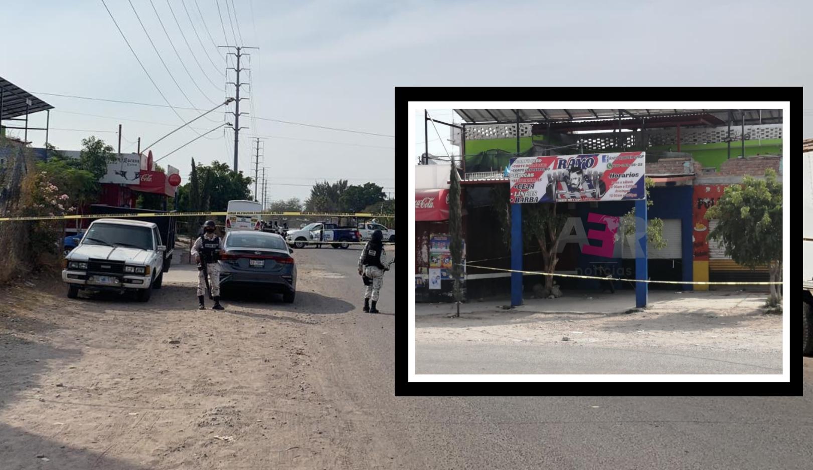 Cinco muertos, cuatro en una Barber Shop, en dos ataques armados en Celaya. 1
