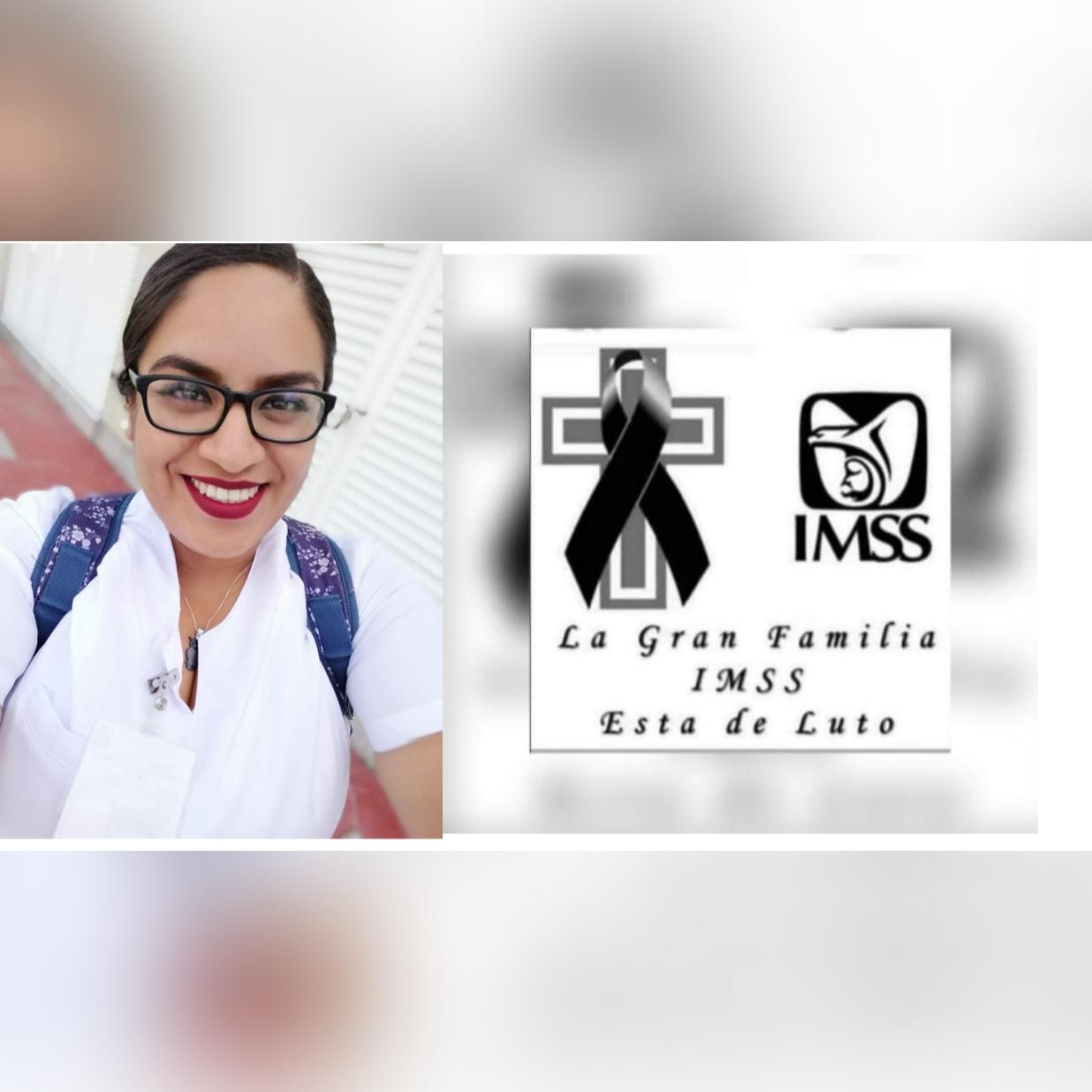 Fallece joven enfermera del IMSS Irapuato tras contagiarse de Covid 10