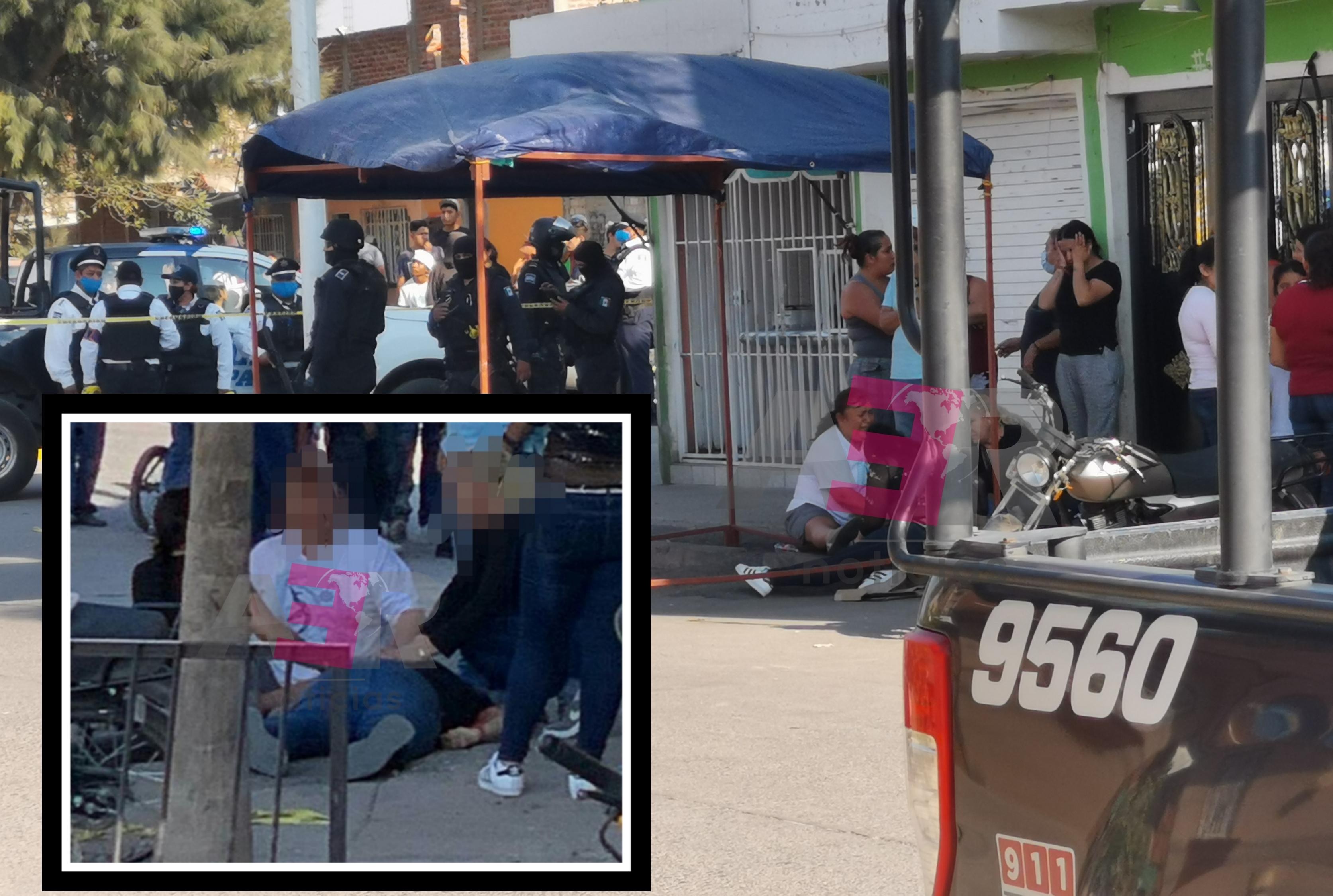 Ataque armado deja como saldo un hombre y una niña muertos, además de un lesionado. 1