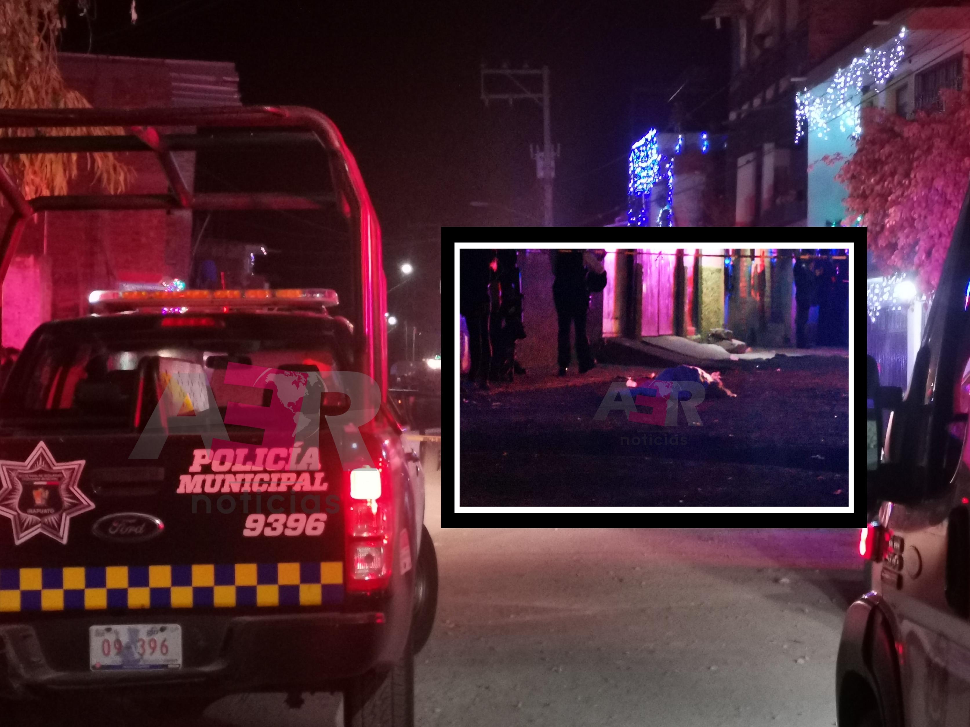 Matan a hombre frente a su casa en la col. Lucio Cabañas 1