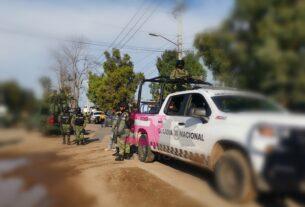 Un elemento de AIC y un civil muertos, en enfrentamiento en Tinaja del Coyote, Yuriria. 2