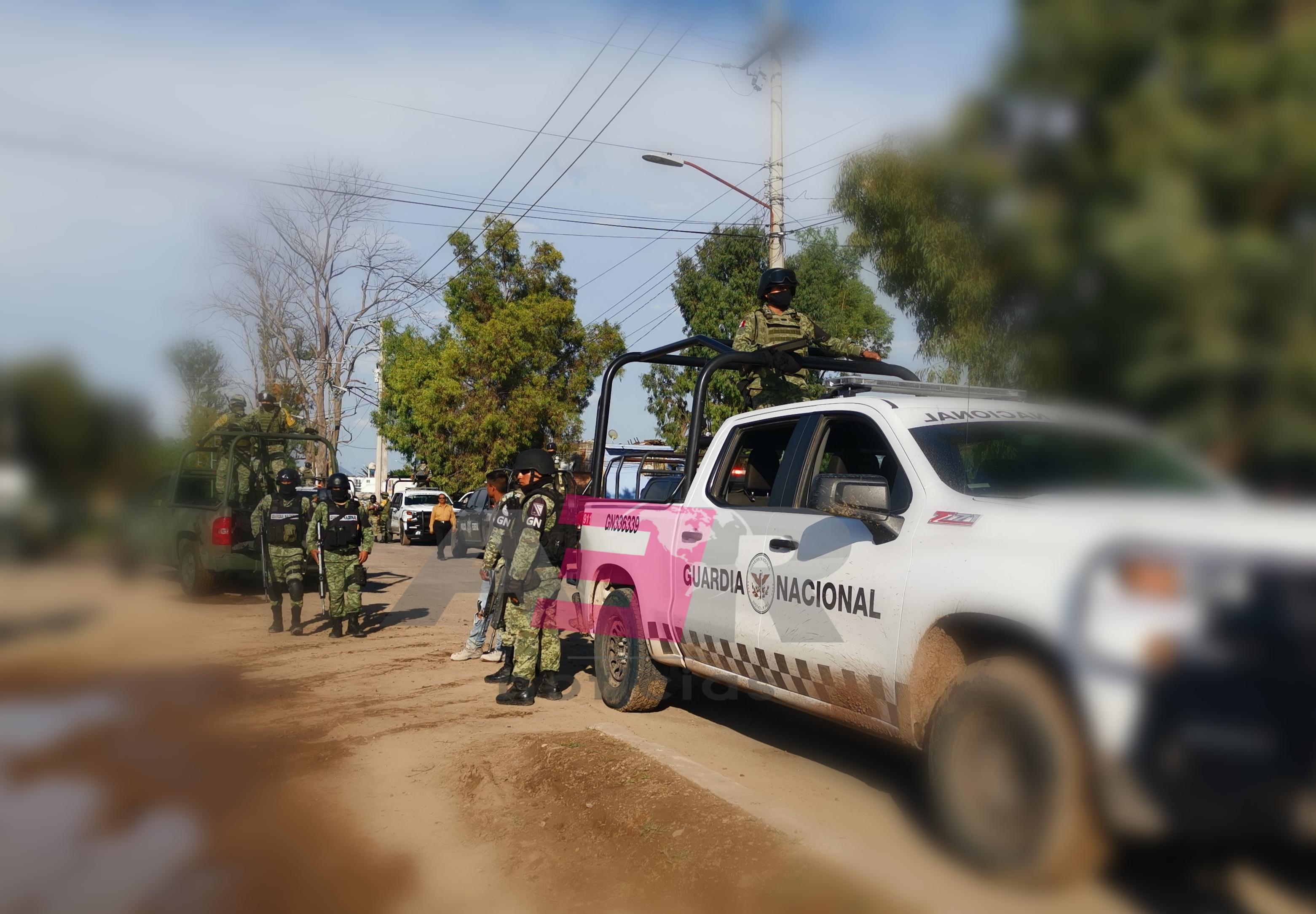 Un elemento de AIC y un civil muertos, en enfrentamiento en Tinaja del Coyote, Yuriria. 1