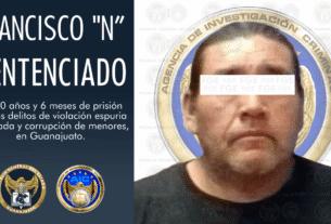 """Sentencia de 110 años de prisión para Francisco """"N"""" por los delitos de violación y corrupción de menores 4"""