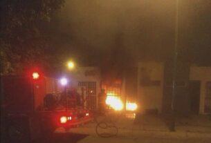 Cuatro muertos, entre ellos un menor de un año, deja ataque armado e incendio de vivienda en Celaya. 4
