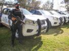 Entrega Gobernador Equipamiento a Policías Municipales de la Región Sur. 8