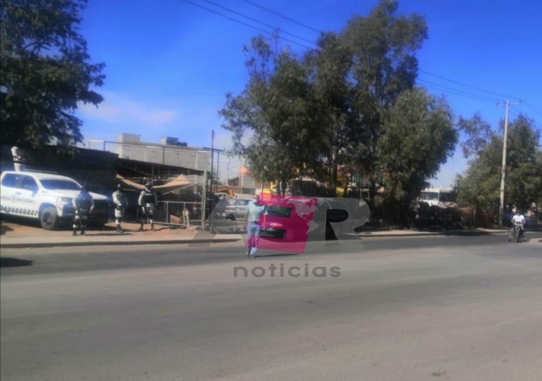 Localizan muerto a velador de una granja en la salida a Pueblo Nuevo. 1