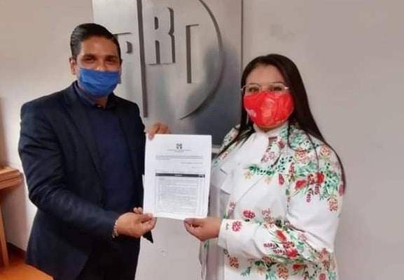 Karen Guerra, se registra para la precandidatura del PRI a la alcaldía de Irapuato 2