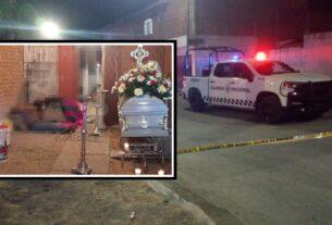 Masacre en velorio en Celaya deja 9 muertos y un lesionado. 4
