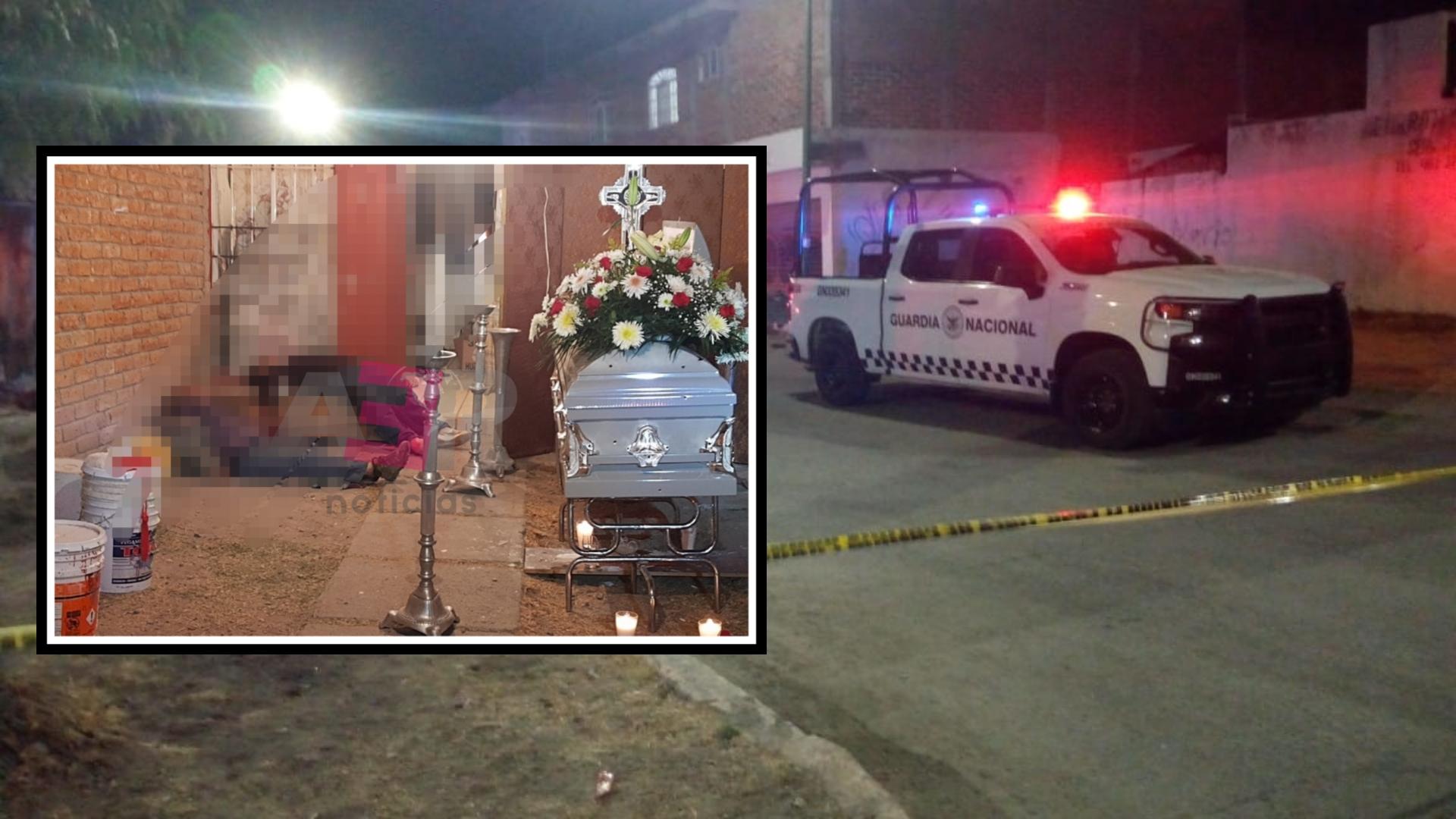 Masacre en velorio en Celaya deja 9 muertos y un lesionado. 1