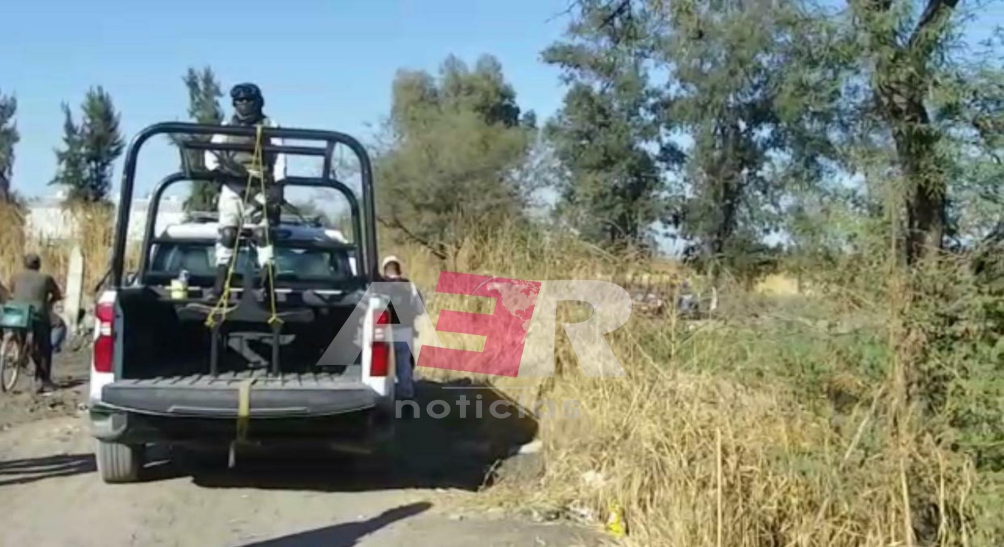 Localizan dos bolsas con restos humanos en camino frente a la comunidad El Carmen 1