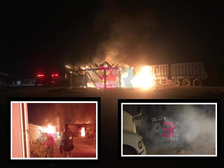 Amanece Celaya con incendio de inmuebles, de vehículos e intensas ráfagas de arma de fuego. 1