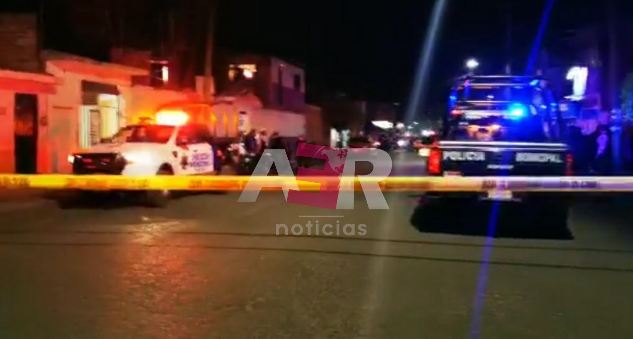 Una mujer y tres hombres lesionados, saldo del ataque armado en Purísima del Jardín. 1