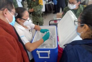 Recibe Guanajuato segunda remesa de vacunas anticovid-19. 4