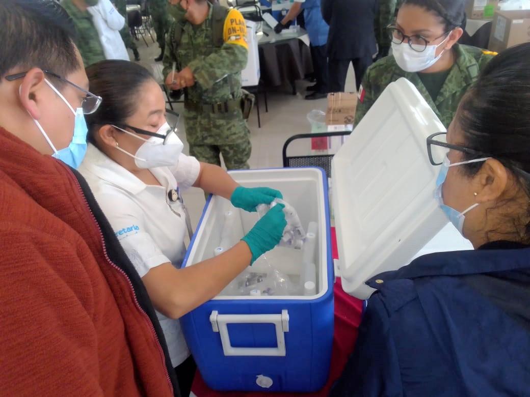 Recibe Guanajuato segunda remesa de vacunas anticovid-19. 9